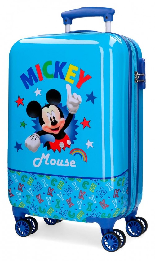 4781461 maleta rígida de cabina mickey stars
