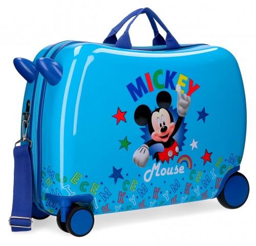 4789861 maleta infantil correpasillos mickey stars