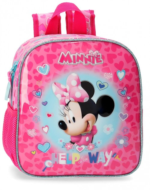 4792061 mochila pequeña 25cm minnie help on the day