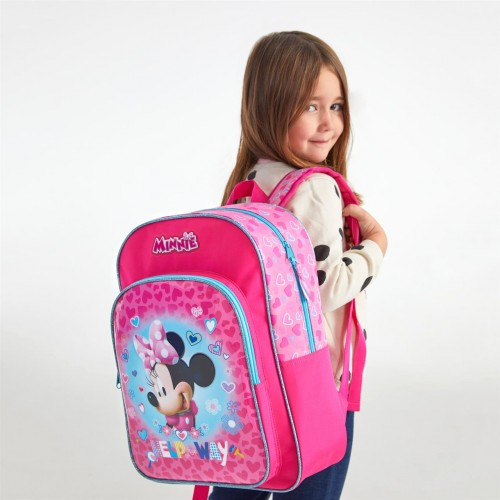 4792361 mochila mediana 38cm adaptable minnie help on the day