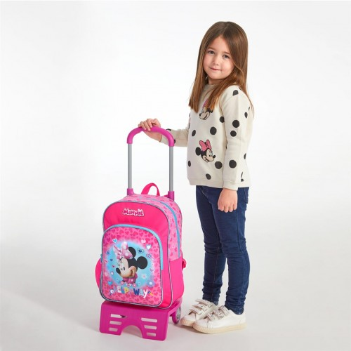 47923N1   mochila mediana 38cm con carro minnie help on the day