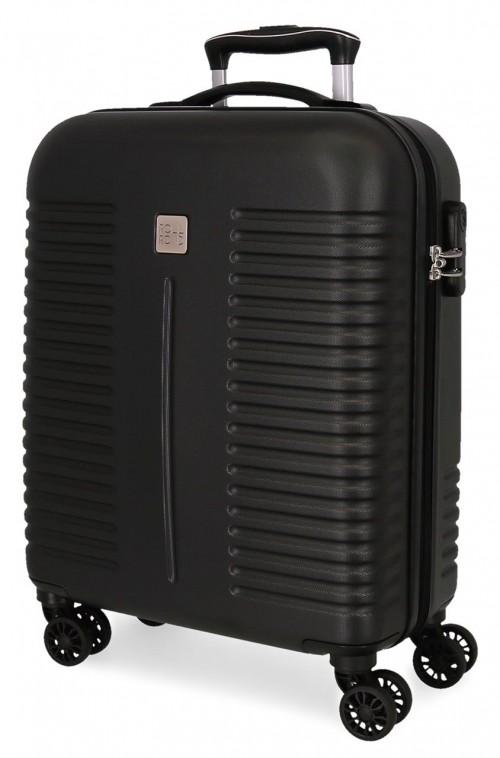 5089121 maleta de cabina rígida india negro
