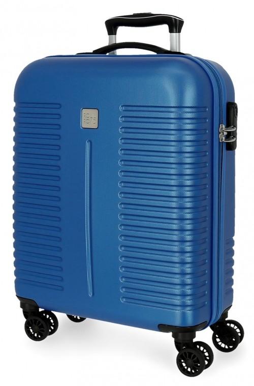 5089124 maleta de cabina rígida india azul