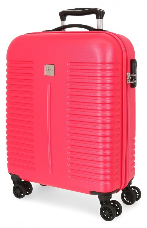 5089126 maleta de cabina rígida india fucsia