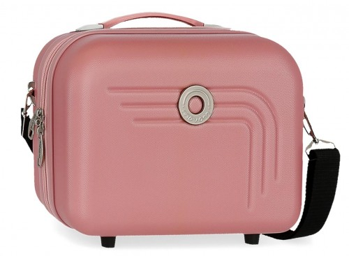 5993965 neceser rígido adaptable y bandolera movom riga rosa