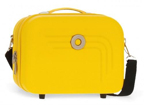 5993967 neceser rígido adaptable y bandolera movom riga amarillo