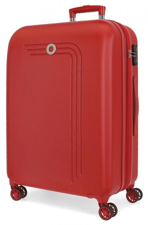 5999264 maleta mediana expandible movom riga rojo