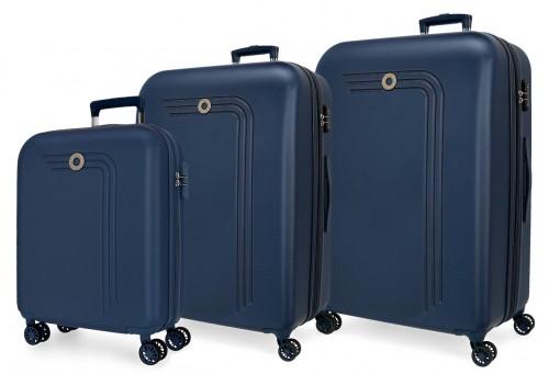 5999462 juego maletas cabina, mediana y grande riga marino
