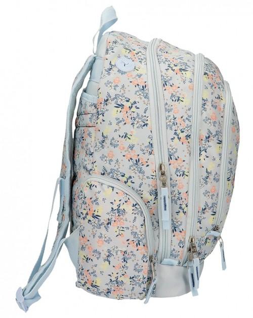 60224D1 mochila 44cm doble compartimento pepe jeans malila