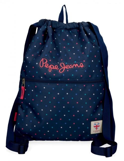 6063821 gym sac con cremallera pepe jans molly