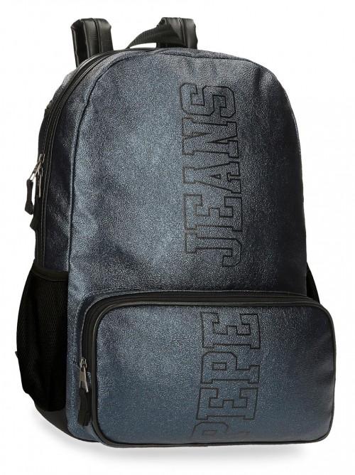 6082321 mochila 44cm portaordenador adaptable a trolley pepe jeans chemistry