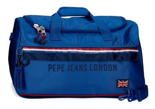 6093621 bolsa de viaje juvenil de 52cm pepe jeans overlap