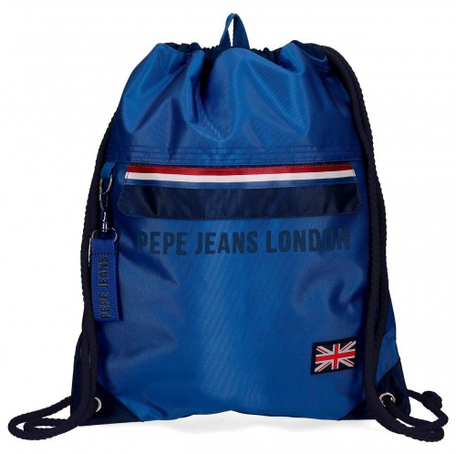 6093821 gym sac pepe jeans overlap con cremallera frontal