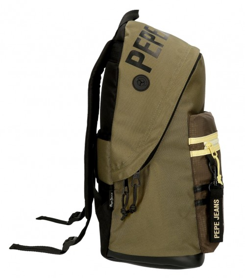 61423D1 mochila 44cm adaptable a trolley pepe jeans caden