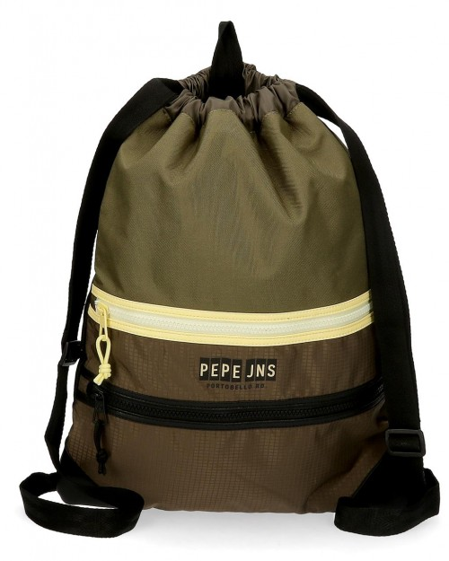 6143821 gym sac con cremallera frontal pepe jeans caden