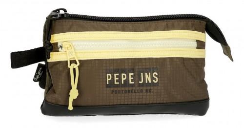 6144321 portatodo triple compartimento pepe jeans caden
