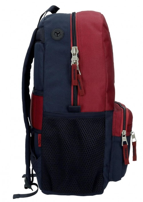 61523D1 mochila 44cm adaptable a trolley pepe jeans andy