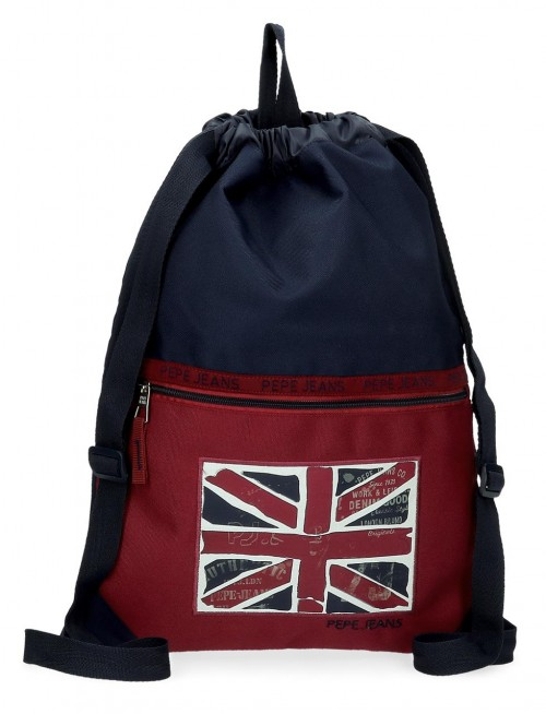 6153821 gym sac con bolsillo pepe jeans andy