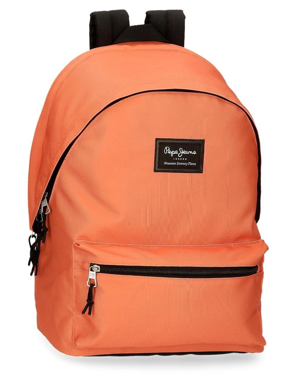 Mochila Doble Compartimento Portaordenador Pepe Jeans Aris Naranja 6332429