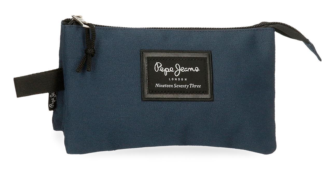 Portatodo Triple Pepe Jeans Aris Evergreen Marino 6334326