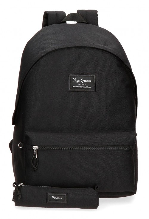 6339221 mochila portaordenador más portatodo pepe jeans aris evergr negro