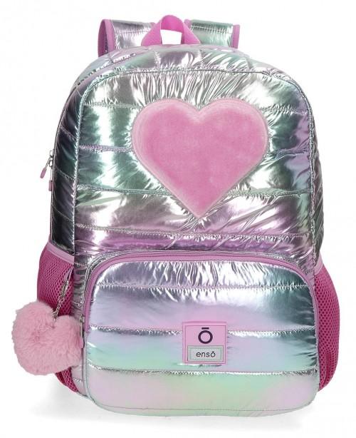 90123D1 mochila de 42cm con portaordenador adaptable enso fancy