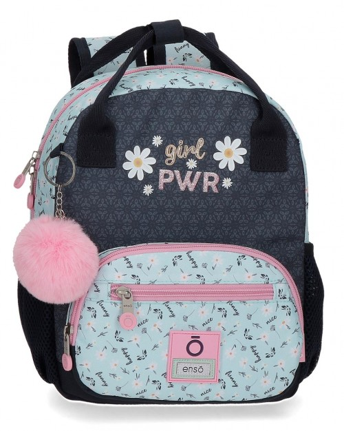 9022021 mochila urbana 28cm enso girl power