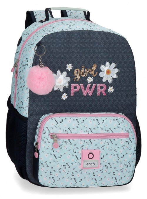 90223D1 mochila grande 42cm adaptable enso girl power