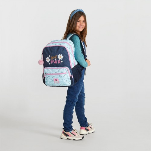 90224D1 mochila grande 44cm doble comp. enso girl power