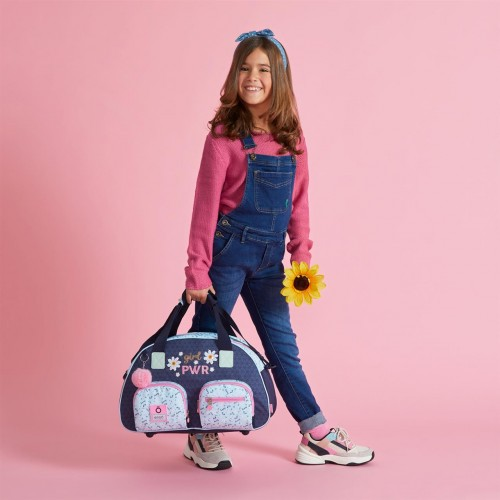 9023121 bolsa de viaje 45cm enso girl power