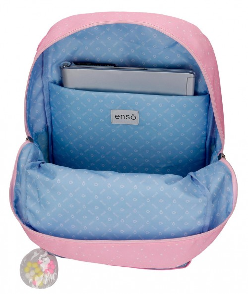 90323D1 mochila grande 43cm portaordenador adaptable enso collect moments