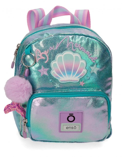 9052021 mochila urbana 23cm enso be mermaid