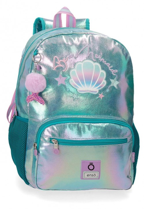 90523D1 mochila grande 42cm portaordenador adaptable enso be mermaid