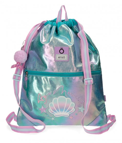 9053821 gym sac con cremallera enso be mermaid