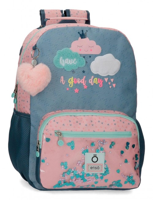 90623D1 mochila grande 42cm portaordenador adaptable enso good day