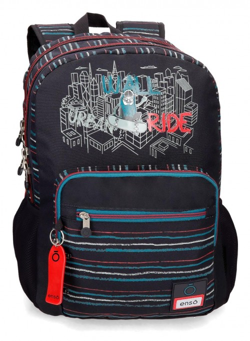 90724D1 mochila 44cm doble comp. adaptable enso wall ride