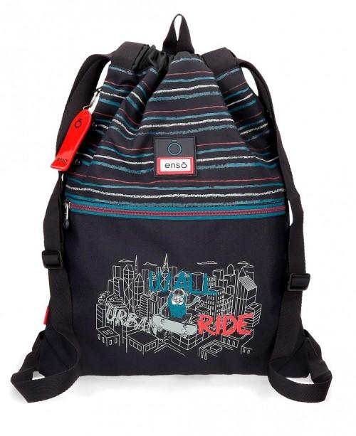 9073821 gim sac con cremallera enso wall ride