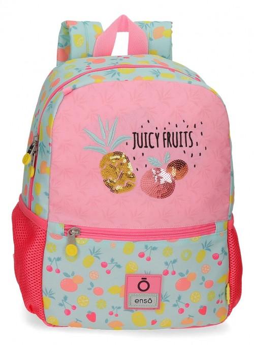 9092121 mochila pequeña 32cm enso juicy fruits