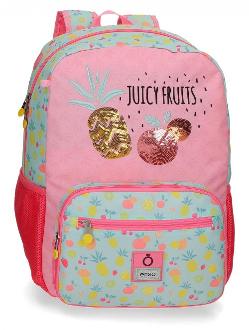 90923D1 mochila grande 42cm portaordenador adaptable enso juicy fruits