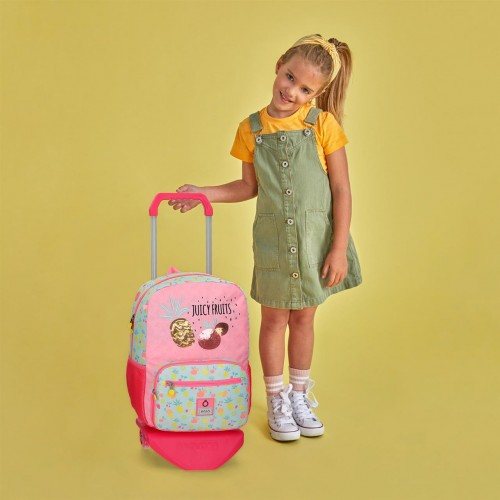 90923T1 mochila grande 42cm portaordenador con carro enso juicy fruits