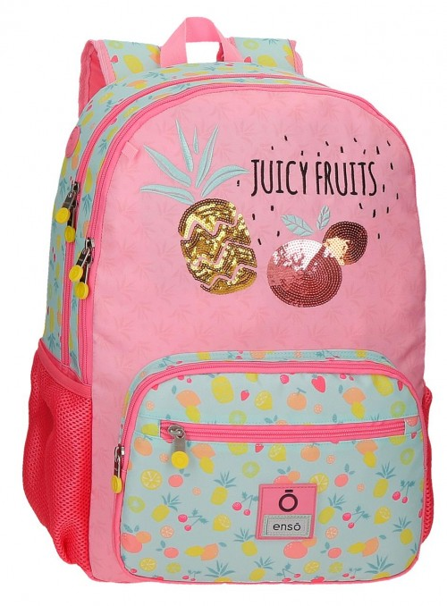 90924D1 mochila grande 44cm doble comp. enso juicy fruit