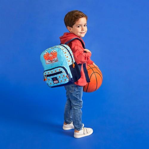 9162121 mochila pequeña 28cm enso basket family
