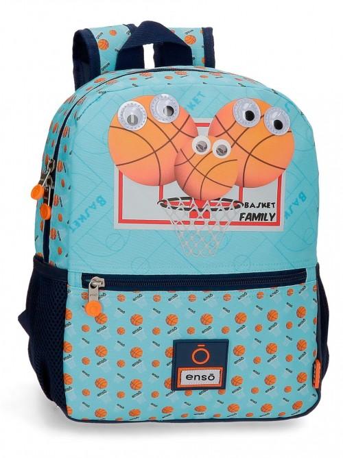 9162221 mochila 32cm enso basket family