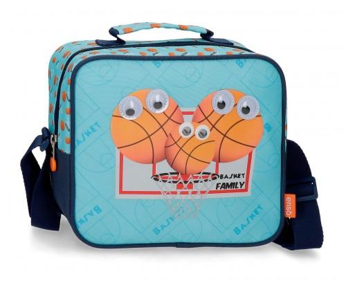 9164821 neceser con bandoelra y adaptable enso basket family