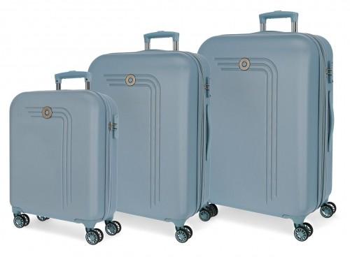 5999463 juego maletas cabina, mediana y grande riga cielo