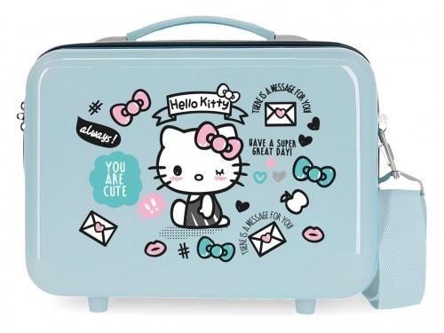 2153921 neceser hello kitty you are cute azul
