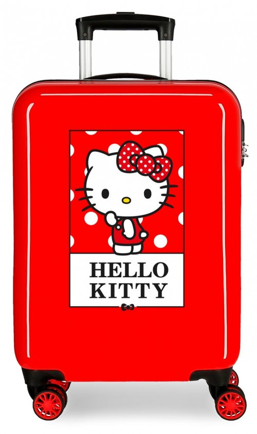 3191722 maleta cabina hello kitty bow of hello kitty rojo