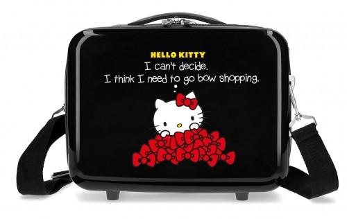 3193921 Neceser Rígido Hello Kitty Bow Of Hello Kitty