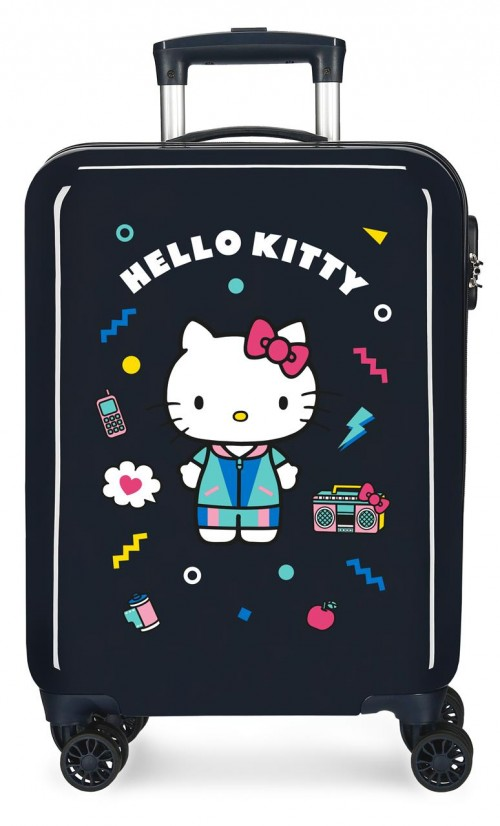 4221721 maleta de cabina  castle of hello kitty