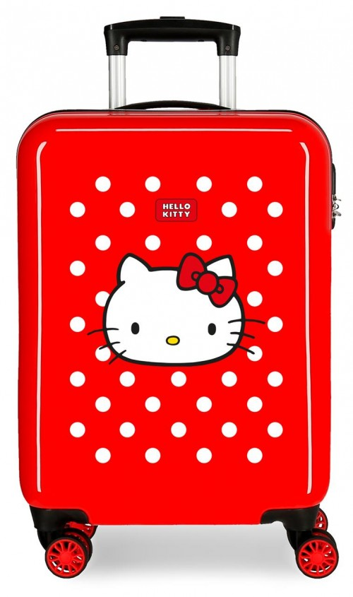 4221722 maleta cabina castle of hello kitty rojo